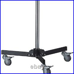 101 Steel Wheeled Roller Light Stand Photo Video Studio Adjustable with Baby Pin