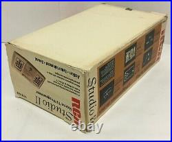 1976 Rca Studio II Model 18v100 Home Tv Video Game Console Boxed In Box Rare