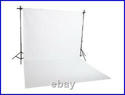 2.72x6 550GSM Matt White High Key Studio Vinyl Backdrop For Photo/Video