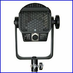 2 Godox VL300 LED Video Light Continuous Output Bowen Mount Studio Light