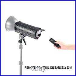 200W LED Video Light 5700K Dimmable Lamp Studio Photo Bowens Mount + Remote