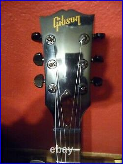 2013 Gibson ES-335 Studio Midnight Blue Guitar withHard Shell Case USA VIDEO