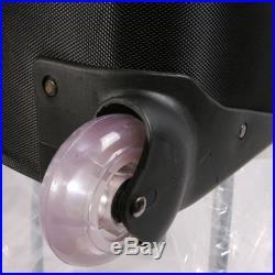 2400w Studio Video Red Head Tungsten Halogen Light 3 X 800w Flight Case Earthed