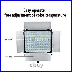 2Pcs Dison D2000II SMD LED Bicolor Photography Studio Lighting Lamp Video Lights