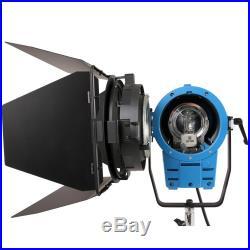 2x 2000w Fresnel Tungsten Halogen Spotlight Lighting Studio Video Light Bulb DI