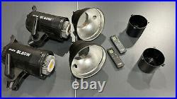 2x Godox SL-60W 5600K Studio LED Video Light Continuous Light + Remote Control