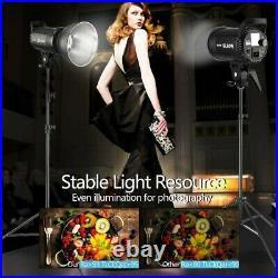 2x Godox SL-60W LED Studio Video Light Photography Lighting Bowens Mount 5600K