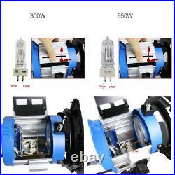 300W2+650W2+Dimmer4 Fresnel Tungsten Lighting For Film Video Photo Studio