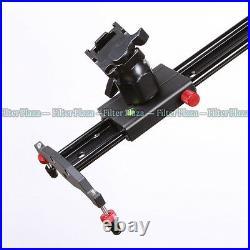 47/120cm PRO Studio DSLR Camera Slider Dolly Track Video Stabilizer Rail System