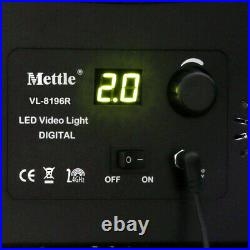 AKTION LED Flächen-Leuchte Studio-Licht Video Foto-Lampe VL-8196R, 9000 Lm