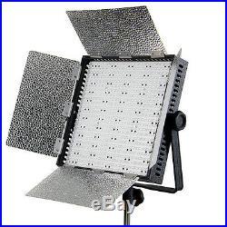 ANGEBOT! LED-Flächen-Leuchte CN-600 HS Dauerlicht-Panel Studio-Licht Foto Video