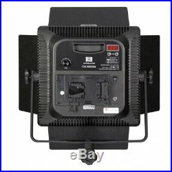ANGEBOT! LED-Studio-Leuchte CN-600 SA + SOFTBOX Video Foto Flächen-Dauer-Licht