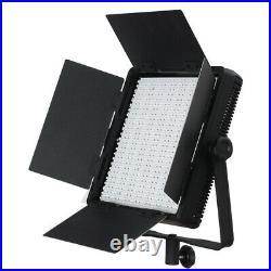 ANGEBOT! LED-Studio-Set DOMINO DUO 600SA Foto Video Dauer-Licht Flächen-Leuchte