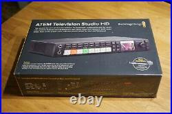 ATEM Television Studio HD Blackmagic Design Videomischer OVP NEU
