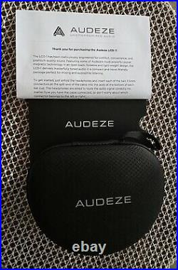 AUDEZE LCD-1 HEADPHONES STUDIO OR HIFI Monitor Planar Drivers Boxed Video