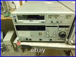 Au-63-p Panasonic Au63 Panasonic Au-63-p MII Video Cassette Recorder Studio Vtr