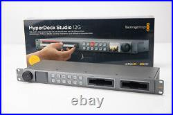 BlackMagic HyperDeck Studio 12G Video Recorder Ships Free
