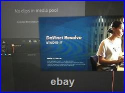 Blackmagic Davinci Resolve 16/17 Studio Video Editing Full Licence Dongle fusion