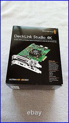 Blackmagic Design DeckLink Studio 4K Video Capture And Playback Card