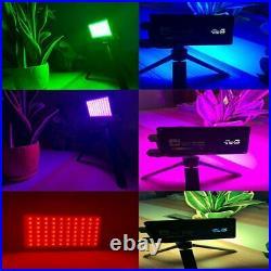 Boling BL-P1 RGB Pocket LED Video Light 2500-8500K For Studio DSLR Camera Light