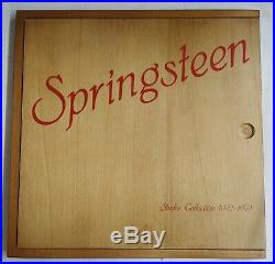 Bruce Springsteen Studio Collection 1972-1979 Caja madera 4-LP picture discs