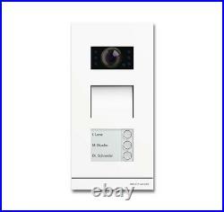 Busch-Jaeger 83121/3-664 Video 3fach studioweiss matt Türstation