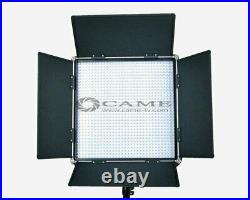 CAME-TV High CRI Bi-color 2 X 1024 LED Video Lights Studio TV Lighting +Free Bag