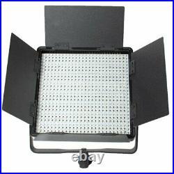 CN-600SA 600 LEDs 5600K LED Video Studio Light Panel with V-Lock Battery Mount