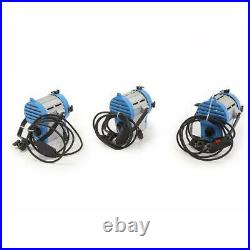 Came-TV 3x 650W Fresnel Tungsten Continuous Spot Video Studio Lights SKU#1433313