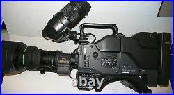 Camera Video Broadcast Studio Sony Dxc-537ap+ca537p+ccu-m5+ Lens Canon