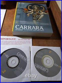 Carrara V2 Studio 3D For Web Print & Video CAR-MW-US-R MAC Windows