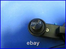 Chrosziel 203-01 Film & Video Studio Follow Focus with 3 extra white rings
