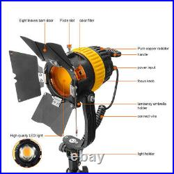 Compackt 5500/3200K 50W LED Spotlight Continuous Light+V-Lock For Video Studio