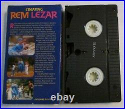 Creating Rem Lezar VHS Video Tape Movie 1989 Cult Valley Studios Scott Zakarin