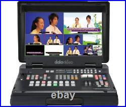 DataVideo HS-1300 6-Kanal-Studio mit Streaming- und Aufnahmefunktionen
