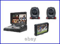 Datavideo HS-1600T-2C140TCM 4Ch HD/SD HDBaseT Portable Video Streaming Studio