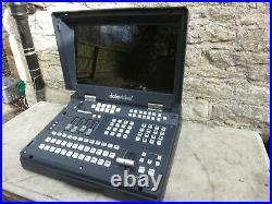 Datavideo HS-600 mobile video studio 8 input mixer broadcast production desk