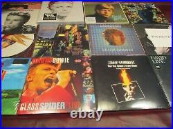 David Bowie Studio Albums + Picture Disc + Box Set + Live Bonuses 12 Titles Set