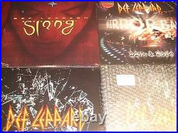 Def Leppard Slang Mirror Ball Live 180 Gram Limited 3 Titles+picture Disc 8lps