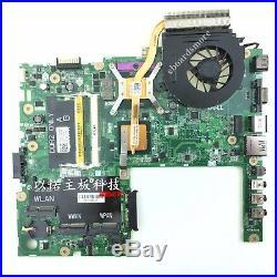 Dell Studio 1555 motherboard, intel GM45, include heatsink, replace ATI video chip