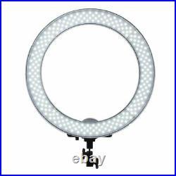 Dimmable Diva 50W 48cm LED Studio Ring Light Beauty Make Up Selfie Video Photo