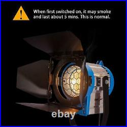 Dimmable Spotlight 300W Fresnel Tungsten Kit Professional Lighting Studio Video