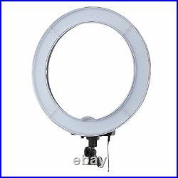 Diva 55w 45cm LED Studio Ring Light Beauty Make Up Selfie Video Photo +Mount Kit