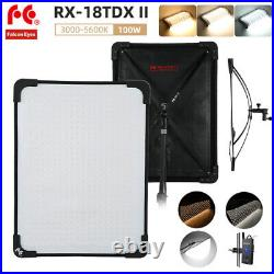 FALCONEYES RX-18TDX II 100W LED Soft Roll Studio Video Light Dimmable 3000-5600K