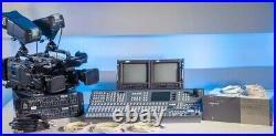 FULL Broadcast Tv Studio Grass Valey Kayak DD2 + Ikegami SDI Video Cameras + CCU