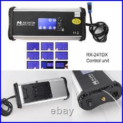 FalconEyes RX-24TDX 150W enroulable tissu Bi-Color Studio LED lumière vidéo