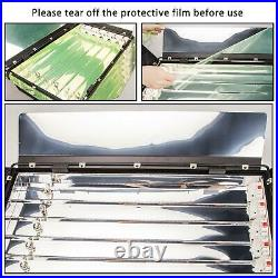 Fluorescent Light Panel 55W 6 Bank Flood Studio Lighting Case Photo Video Osram