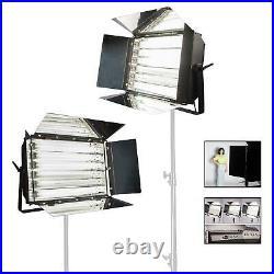 Fluorescent Light Panel 55W 6 Bank Flood Studio Lighting Photo Video Osram UK