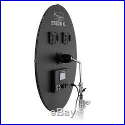 Fotodiox Pro 30in FlapJack C-1500RSV Bi-Color LED Studio Light for Video & Photo