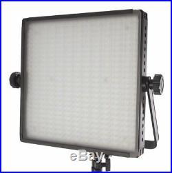 Fovitec 2x Bi-Colour 600 LED Studio Film Video Photography Lighting Panel Kit